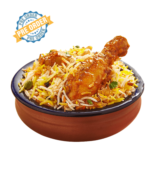 Chicken Biriyani (6 Combo)
