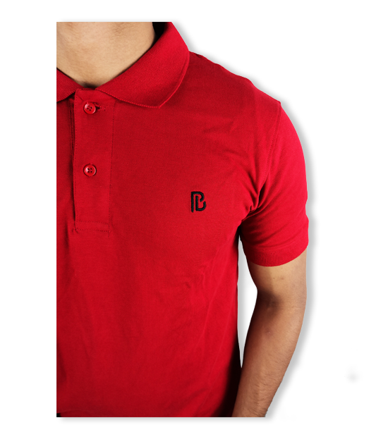 Plan B Polo Red